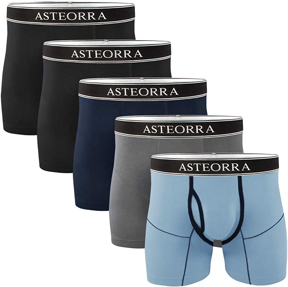 Counting Stars Men's Boxer Briefs Underwear Fly Front with Pouch Cotton Mens  Underwear Boxer Briefs for Men Pack S M L XL XXL at Amazon Men's Clothing  store