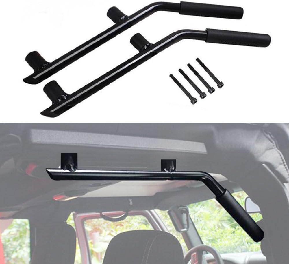 Black Pair American 4wheel Jeep Wrangler Grab Bar Grab Handles Door Handle Rear Grab Handle Jeep Wrangler Accessories JK JKU /& Unlimited Rubicon Sahara Sports,2007-2018