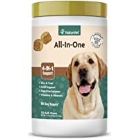 NaturVet All-in-One 4-IN-1 Support for Dogs, 120 ct Soft Chews, Made in USA