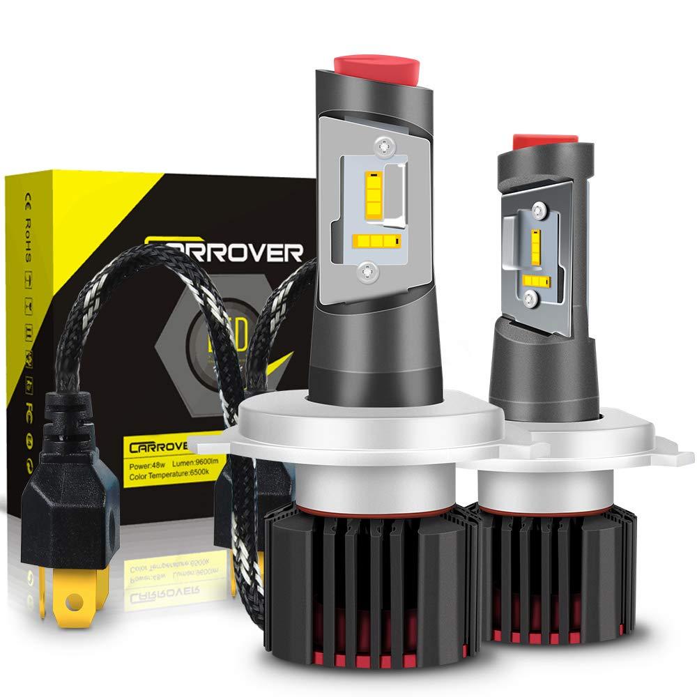 Lampadine H7 LED 9600LM, Kit Lampada Sostituzione per Alogena Lampade e Xenon Luci, Fari Abbaglianti o Anabbaglianti per Auto, 12V-24V, 6500K Bianco Startway Autopart