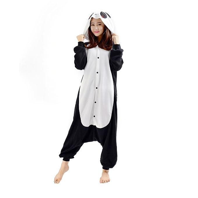 genuino codice promozionale tecnologie sofisticate DarkCom - Animale Pigiama intero da adulto unisex per cosplay e  travestimenti Tutina motivo Panda Triste
