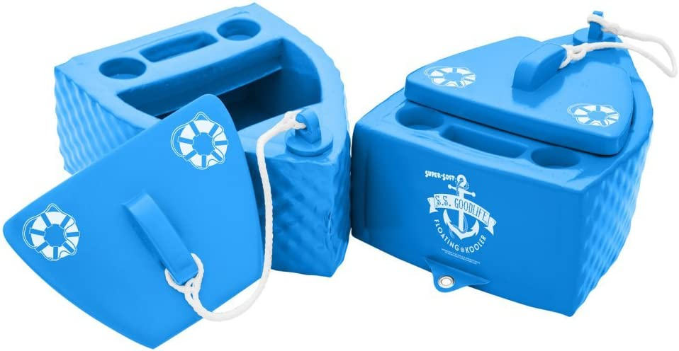 TRC Recreation Super Soft Folding Cooler, Bahama Blue