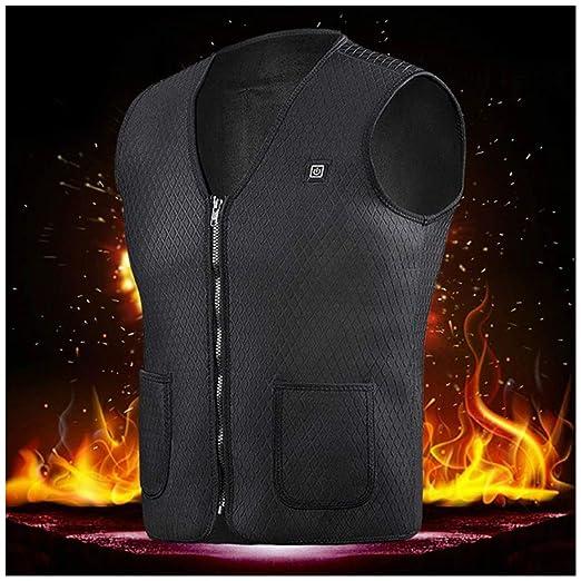 Heated Hunting Clothes >> Amazon Com Alexsix Men Vest Winter Heated Vest Battery Electric