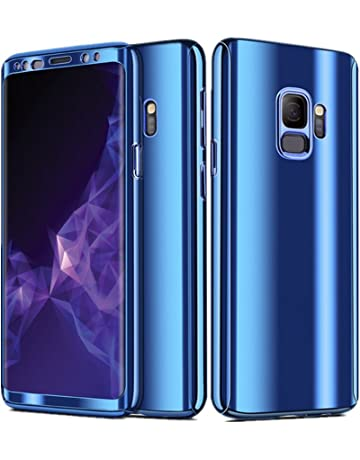 Teryei Funda compatible con Samsung Galaxy S9 / S9 Plus, Hard PC Case 360 Degree