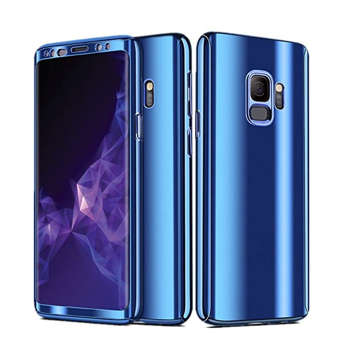 custodia samsung s9 plus blu