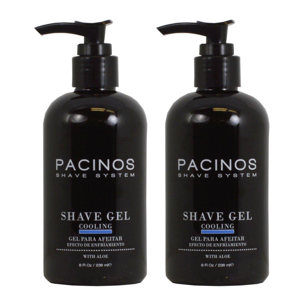 Pacinos Shave System Shave Gel 8oz Pack of 2