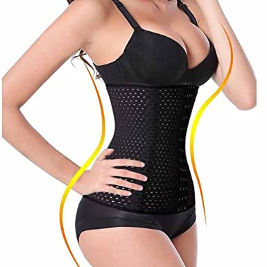897c1d6d295 Image Unavailable. Image not available for. Color  FIRSTLIKE Women Waist  Trainer Slimming Corset Sport Workout Body Control Shaper ...