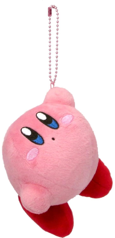 Hanging star Kirby Kirby MC stuffed with ball chain mascot height 8 cm Three British trade