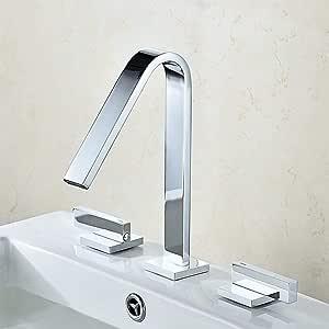 WANNA.ME Grifos para lavamanos Grifo para baño Latón Lavabo ...