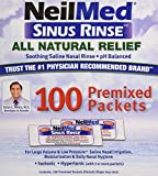 NeilMed Sinus Rinse Refill Packets 100 ct