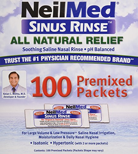 NeilMed Sinus Rinse Refill Packets 100 ct