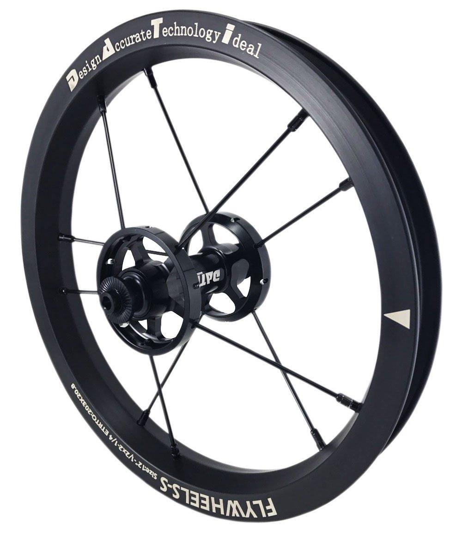 DATI 12インチ S6A-W Alloy バランスバイク Kids Balance Bike Bicycle Super light 子供自転車ホイール B0794XG15L 90x10MM 黒 黒 90x10MM