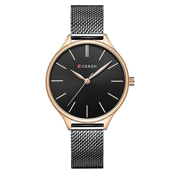 treeweto para mujer analógico relojes cuarzo relojes de pulsera Business Casual reloj único vestido reloj Números