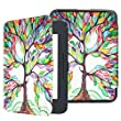 Fintie Nook GlowLight 3 SlimShell Case - Ultra Lightweight Protective Cover for Barnes & Noble Nook GlowLight 3 eReader 2017 Release (Model# BNRV520), Love Tree