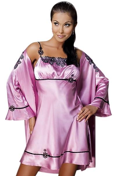 NB - Bata - para mujer rosa Dusky Pink extra-large: Amazon.es: Ropa y accesorios