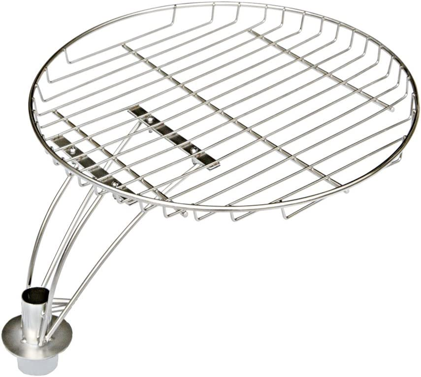 "onlyfire 13.5"" Stainless Steel Cooking Grate with Swivel Shaft for Char-Griller 16620"