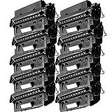 10 Inkfirst® Toner Cartridges C4096A (96A) Compatible Remanufactured for HP C4096A Black LaserJet 2100 2100m 2100se 2100tn 2100xi 2200 2200d 2200dn 2200dse 2200dt 2200dtn
