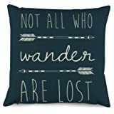 Generic Quotes with Arrow Throw Pillow Covers Decorative Cushion Cover 18 x 18 inches