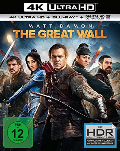 The Great Wall  (4K Ultra HD) (+ Blu-ray)