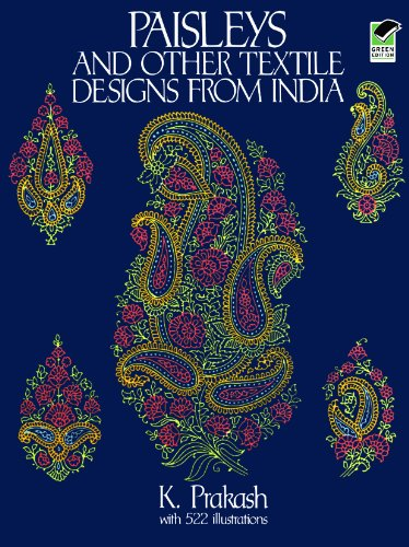 Paisley Costumes Dress (Paisleys and Other Textile Designs from India (Dover Pictorial Archive))