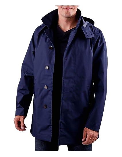 0a7b25f9 Timberland Men's Rain Jacket Jacket Mount Pierce MAC (M, Blue ...