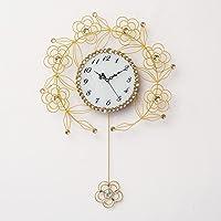 Pétalos Simple Hierro Reloj de pared Creativo Reloj