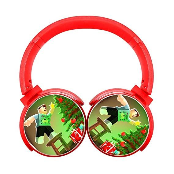 Amazon.com: Xmas-Roblox Wireless Bluetooth Soft On-Ear ...