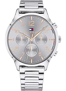 Tommy Hilfiger Reloj Multiesfera para Mujer de Cuarzo con Correa en Acero Inoxidable 1781871