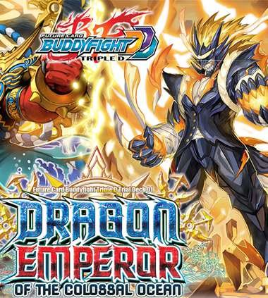BuddyFight Dragon Emperor Of The Colossal Ocean Starter Trial Deck - 52 (Clan Starter Deck)