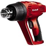 Einhell TH-HA 2000/1 - Decapador con rascador de pintura y 4 accesorios, 2 velocidades, 2000 W, 230 - 240 V, color rojo y negro