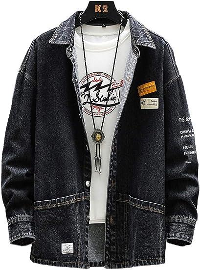 D.IIZOO デニム ジャケット CPOジャケット シャツジャケット メンズ アウター ジージャン 綿 Gジャン 大きいサイズ カジュアル ファッション 春秋服 軽量 無地 通勤 旅行