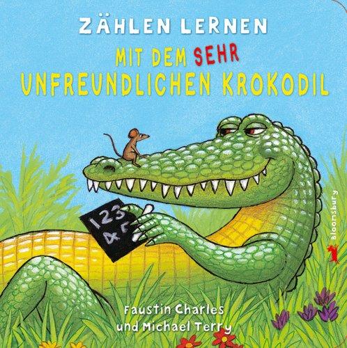 Zählen lernen mit dem sehr unfreundlichen Krokodil