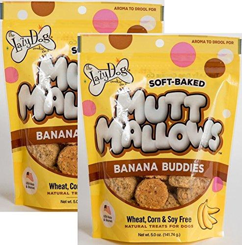 Amazon.com: Mutt Mallows – plátano Buddies – Bolsa de 5 oz ...