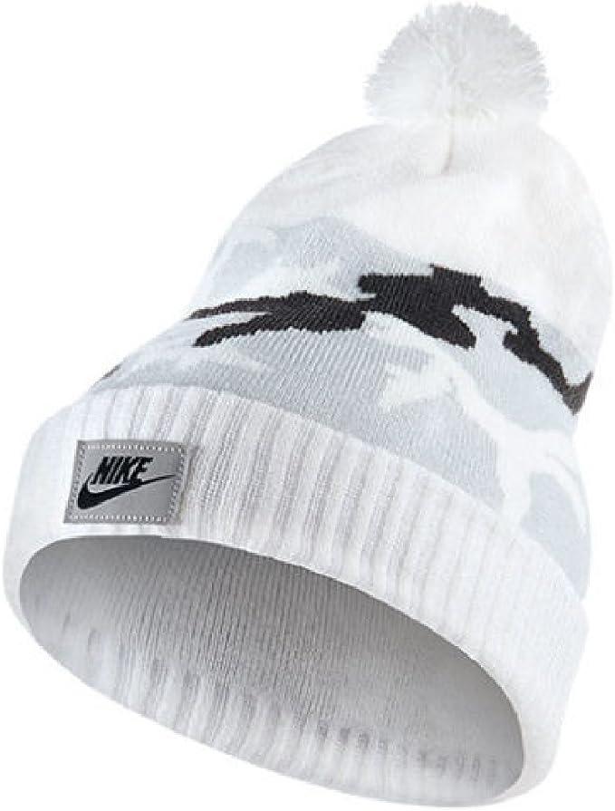 Nike Adult Camo Pom Beanie Hat One Size at Amazon Men's ...