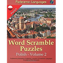 Parleremo Languages Word Scramble Puzzles Polish - Volume 2