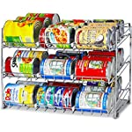 'SimpleHouseware Stackable Can Rack Organizer, Chrome' from the web at 'https://images-na.ssl-images-amazon.com/images/I/61sA8L8OHpL._AC_SR150,150_.jpg'