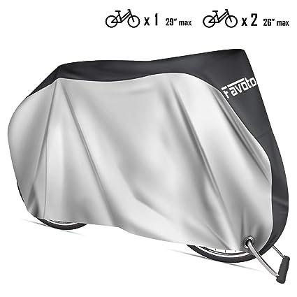 Favoto Waterproof Motorcycle Cover XXL 210T Motorbike Cover 245cm long Anti UV