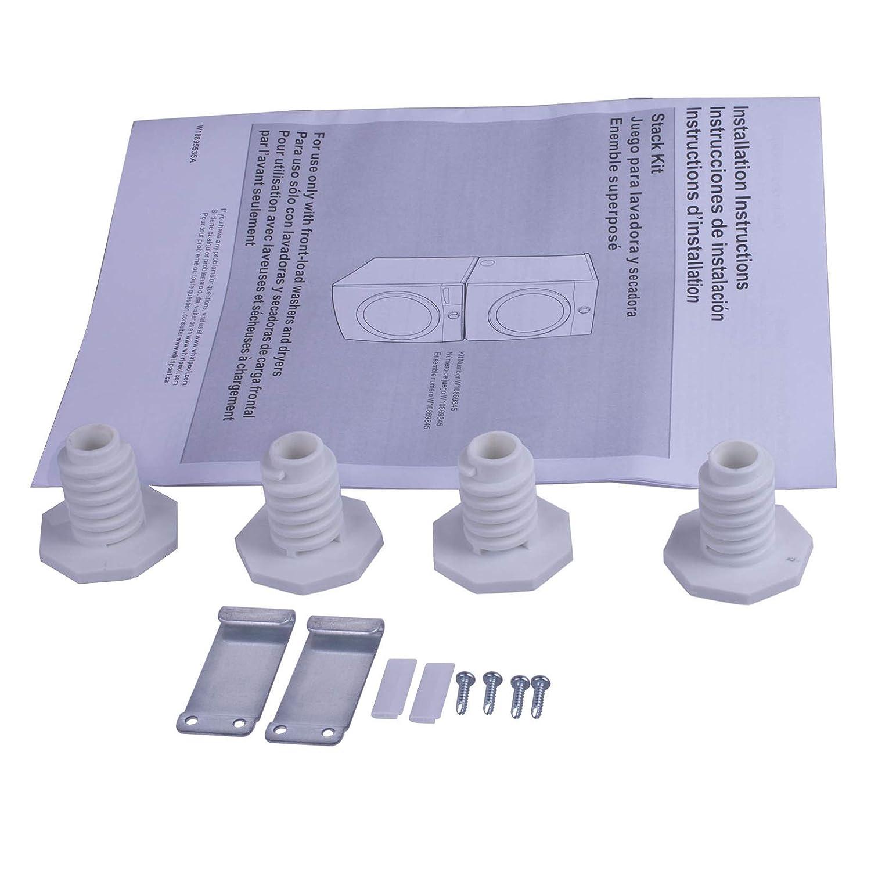Kit de apilamiento de lavandería de repuesto para Whirlpool ...