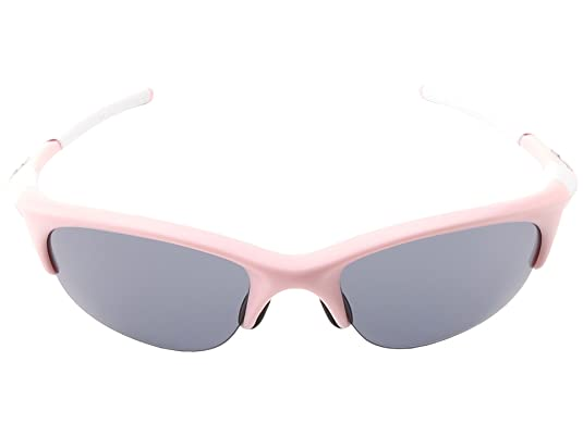 7b3aeb1c12 Amazon.com  Oakley Women s Half Jacket Asian Fit Sunglasses (Pink Frame Grey  Lens)  Shoes