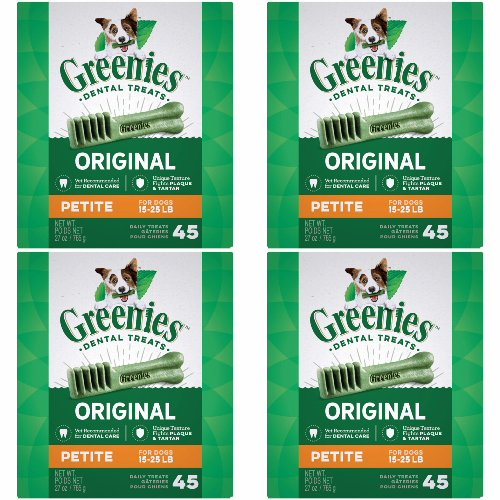 Greenies 4 Mega 27oz Tubs 108oz 180ct Petite