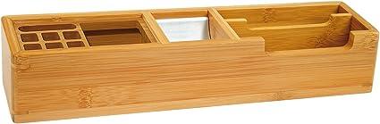 Wedo 0611007 - Organizador de escritorio, marrón: Amazon.es ...
