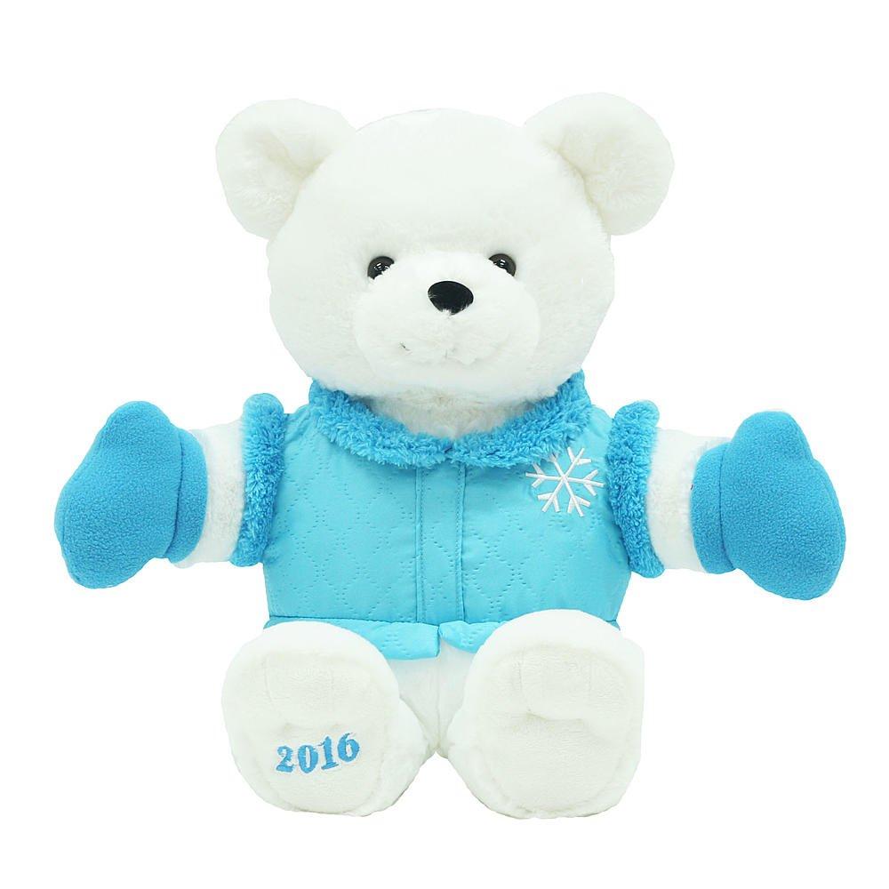 Amazon.com: Trim a Home Kmart 2016 Holiday Bear, Blue: Toys & Games