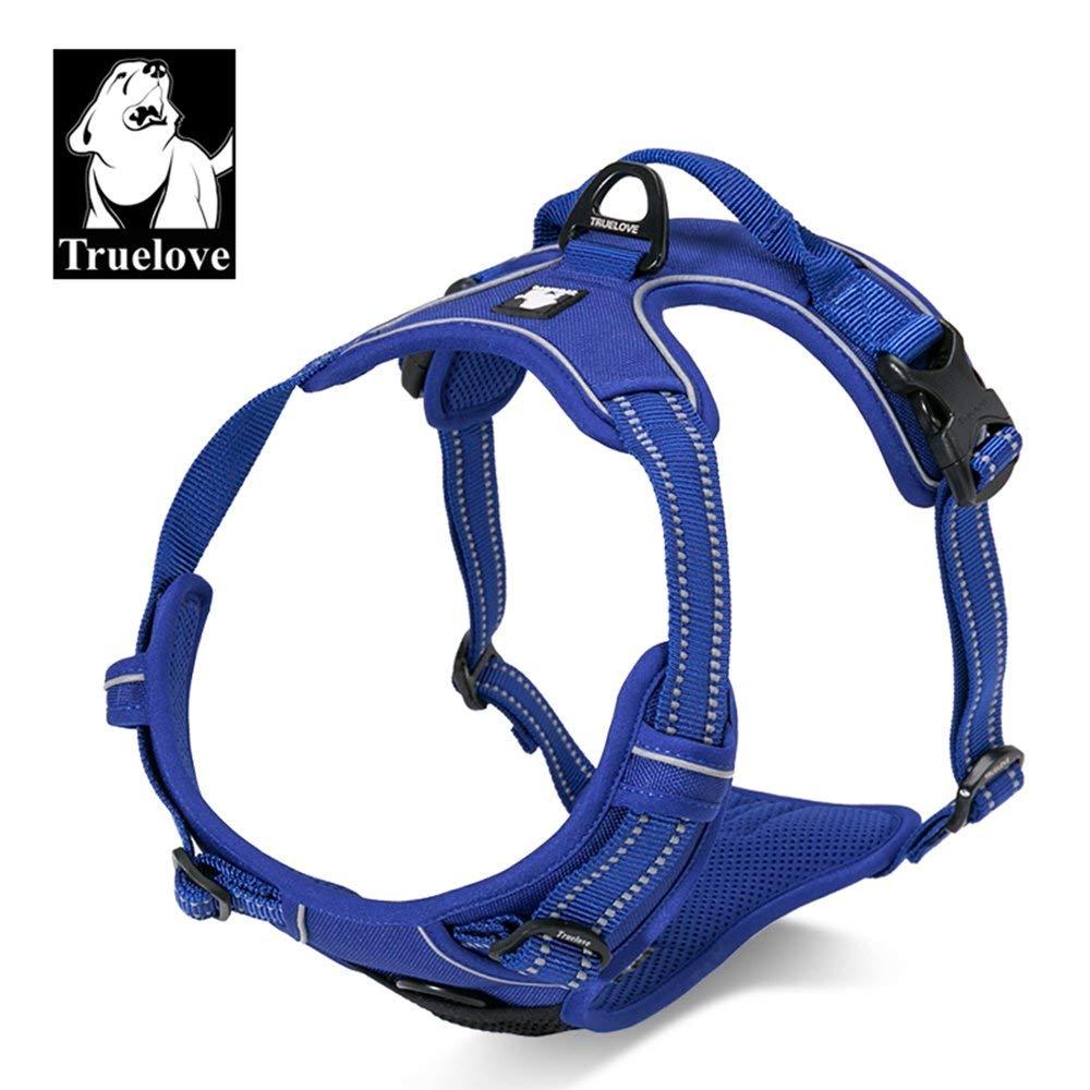 TrueLove TLH5651 Arn/és para perro aventuras al aire libre cachorros las costuras reflectantes 3M aseguran la visibilidad de noche arn/és chaleco para perros grandes