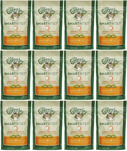 Greenies Chicken SmartBites Hairball Control