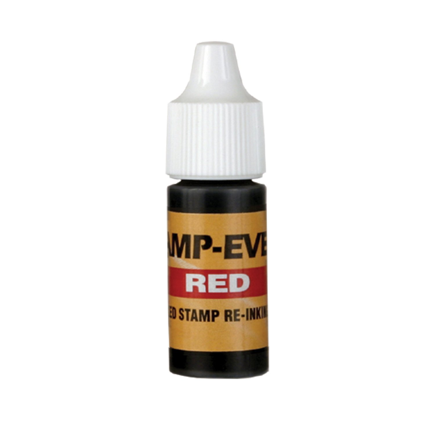 Redi-Tag-Stamp Refill Ink, 7 ml Bottle of, Red-97011