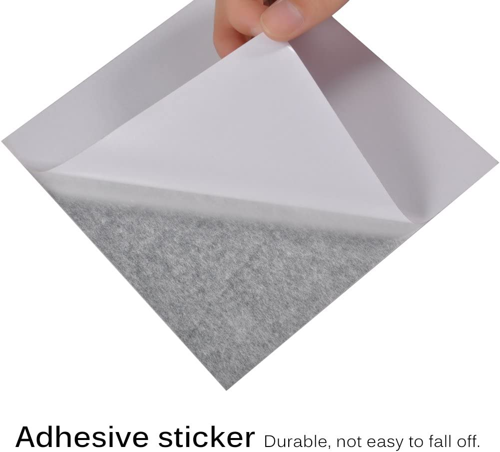 GLOGLOW 16 pcs Miroir Carreaux Autocollants Auto-adh/ésif DIY Carr/é Miroir Stickers Muraux en Plastique Non-Verre 3D Miroir Carreaux Stickers Draps pour La D/écoration Int/érieure 6 Pouces 6 Pouces