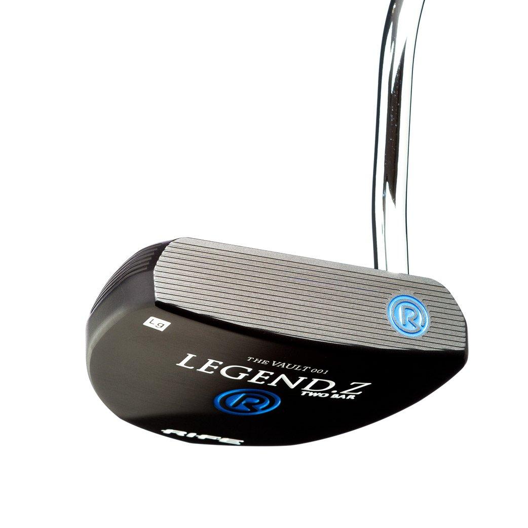 Rife Legend Z Black Anodized Heel Shaft Mallet Golf Putter, 34-Inch, Right