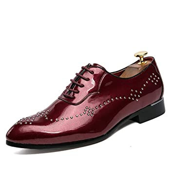 Brillant pour Cuir 2018 Chaussures en Chaussures shoes Homme Xujw xFnwqgf7HF