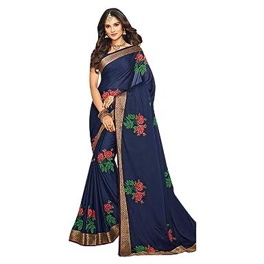 Amazon.com: Festival Offer Diseñador Bollywood Saree Sari ...