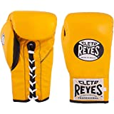 Cleto Reyes Boxing Gloves, Official Leather Safetec Gloves for Men and Women